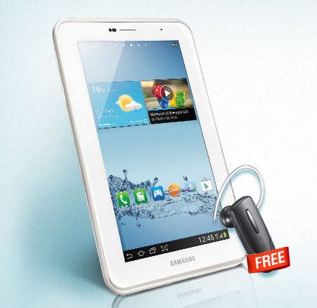 Headset Samsung Tab 2 free bluetooth headset for galaxy tab 2 purchased between 10th june to 10th july
