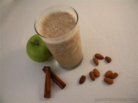 Apple Cinnamon Detox Smoothie by Cinnamon Apple Smoothie Gaps Diet Journey