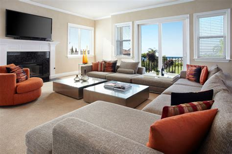 family living rooms san clemente resident living room relooking express transitional family room orange county