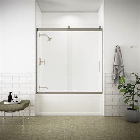 Kohler Bypass Shower Door Recommended Best Sliding Shower Door Reviews Guide
