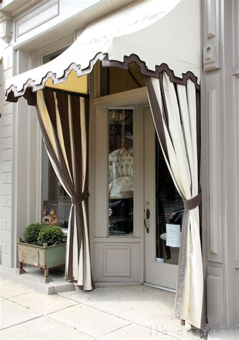 Shop Window Canopy Awning Retail Shop