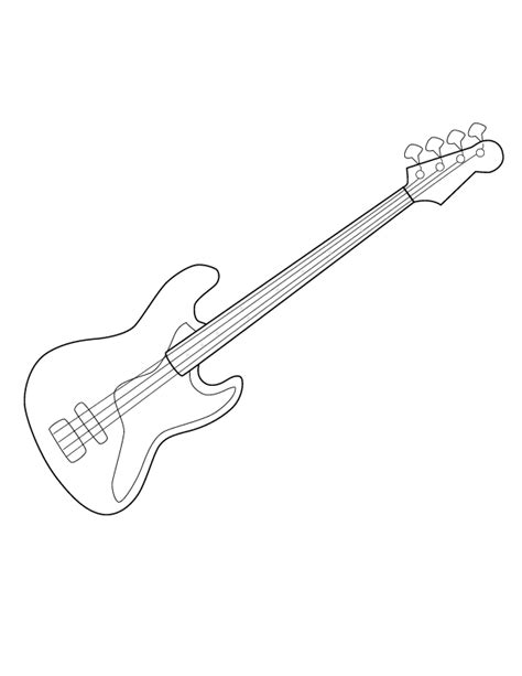 girl guitar coloring page guitar coloring page az coloring pages rock guitar