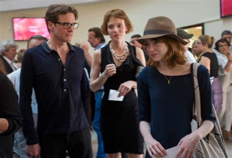 film emma stone colin firth a slim colin firth with emma stone and andrew garfield in