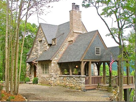 stone cottage home plans stone cottage in the mountains of north carolina via cote