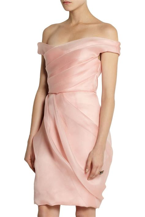 silk and organza dress for the