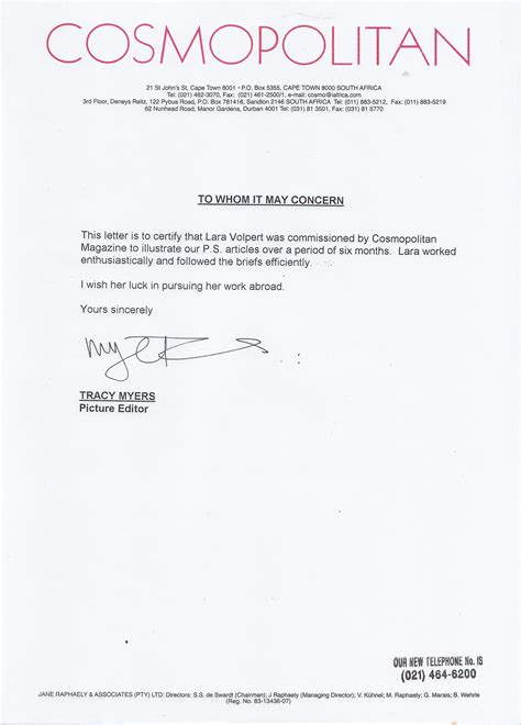 Reference Letter Template South Africa Who Can Write A Letter Of Demand Letters Of Demand South