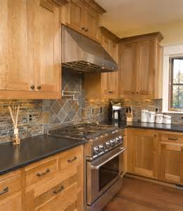 Honey Colored Kitchen Cabinets by Earthy Kitchen For The Home Pinterest