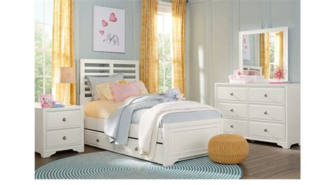 belcourt jr white 5 pc full panel bedroom teen bedroom belcourt jr white 5 pc full ladder bedroom slat