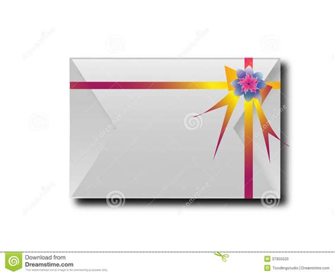 your layout meaning the envelopes with colorful ribbons for the meaning of
