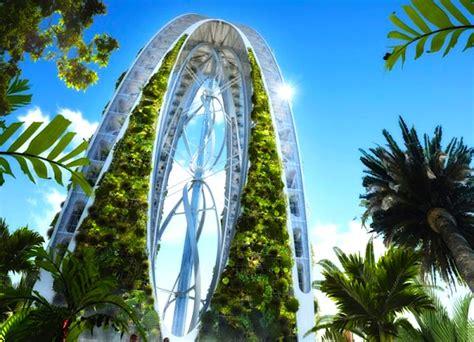 Biotic Garden Vincent Callebaut S Zero Carbon Biotic Arch Is A Self