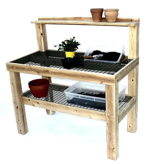 vinyl potting bench 17 best images about potting benches and sheds on