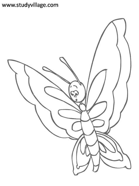 funny insects printable coloring page for kids 4 funny
