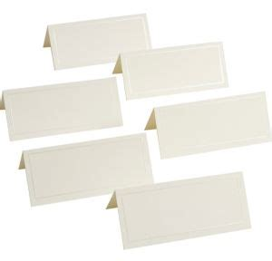 gartner studios place cards ivory template ivory pearlized border printable place cards 48ct city
