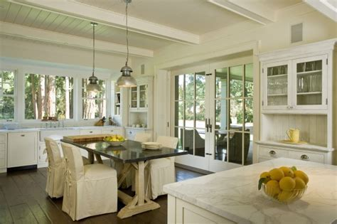 Trestle dining Table   Cottage   kitchen   Arcanum