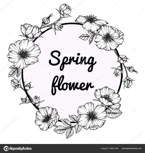 disegni di cornici cornici fiori disegni