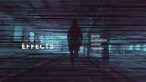 text after effects template calibrate monochrome title sequence after effects template