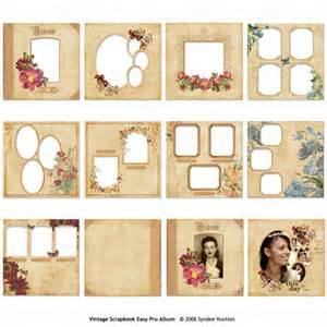 12x12 Scrapbook Album Easy Page Pro Album Vintage Scrapbook