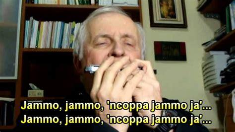 testo funiculì funiculà funiculi funicula harmonica lyrics