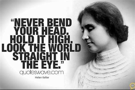 biography of helen keller in 100 words helen keller quotes about vision love and optimism to