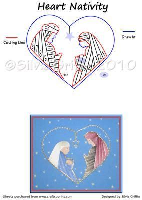 nativity card templates 117 best iris folding images on iris folding