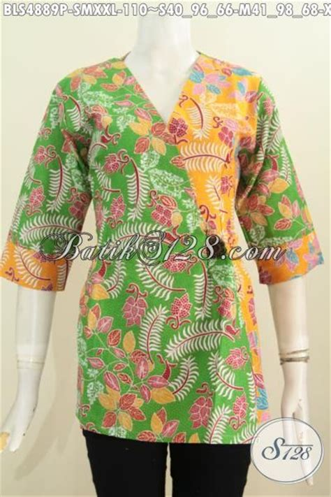 Kimono Santai Wanita Dan Pria blus batik model kimono baju batik modis wanita modern