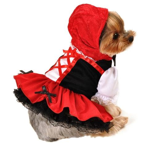 little red dog house little red riding hood dog costume halloween costumes at glamourmutt com