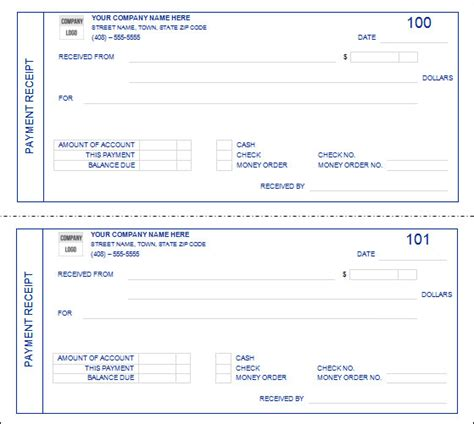 paid receipt template search results for free printable receipt for payment