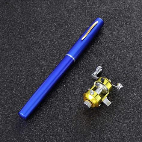 Mini Cing Travel Fish Pen Fishing Rod Pole Reelnbsp 95cm mini cing travel fish pen fishing rod pole reel