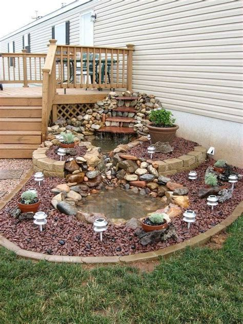 yard design for mobile home 25 best ideas about mobile home landscaping on