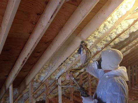 Spray Foam Attic Ceiling by 17 Best Images About Spray Foam Insulation In Attic On