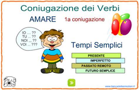 delle emozioni verbi i verbi i tempi semplici il c ff 232 dei lettori