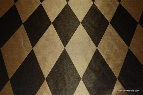 Harlequin Upholstery Fabric hd204 black and gold harlequin faux silk fabric