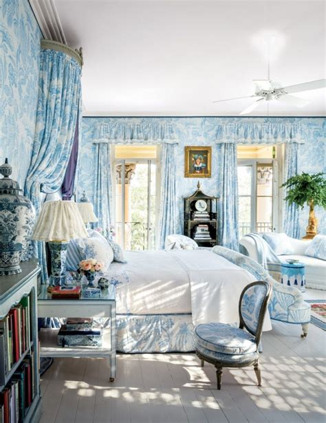 Bedroom Decorating Ideas With Toile Classic Impression By Toile Bedding Atzine