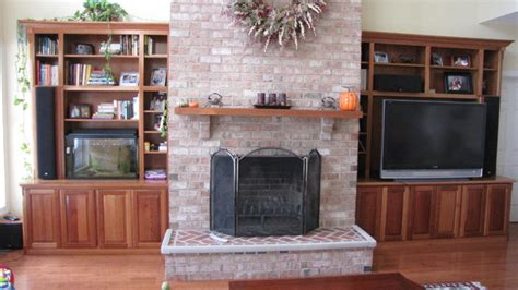 Built In Cabinets Around Fireplace by Built In Cabinets Around Fireplace Dc