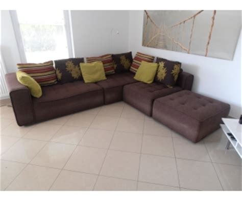vendre canapé canap 233 d angle tissu brun seraing 224 vendre
