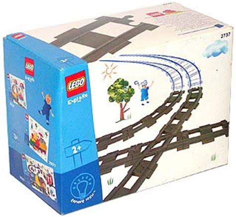Lego 2736 Duplo Switching Track bricker конструктор lego 2737 рельсы и переезд duplo