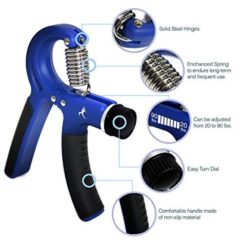Fender Handgrip Exercise fitness master grip strengthener with adjustable resistance from 20 to 90 lbs lifestyle