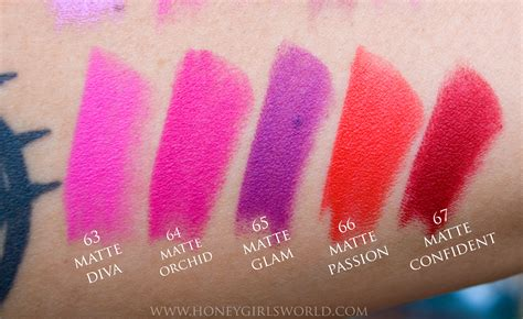 matte about you milani moisture matte color statement lipsticks swatches