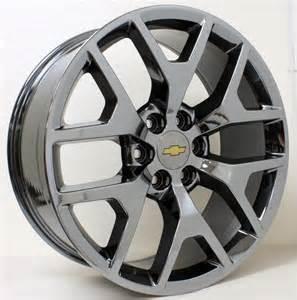 new 22 inch chevy black chrome honeycomb wheels rims