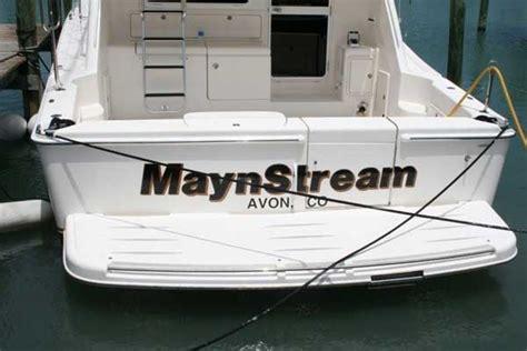 boat lettering stuart fl boat signs graphics and lettering in stuart fl