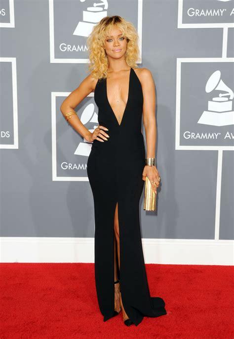 Grammy Awards Rihanna by Grammy Awards 2012 Carpet Rihanna Nicki Minaj Diana