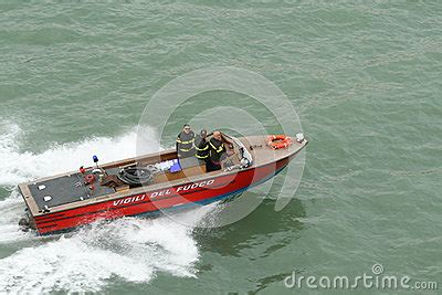 italian fire boat boat fire department editorial photography image 46123517