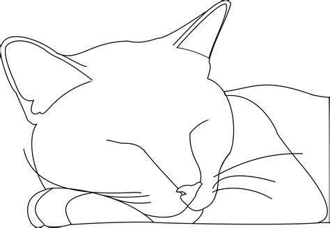 Outline Drawing Cat Laying Vitruvian Outline by Cat Outline Logan By Sgalteran On Deviantart