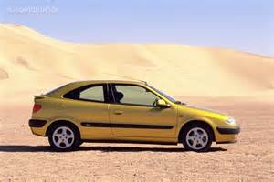 citroen xsara coupe vts specs 1998 1999 2000