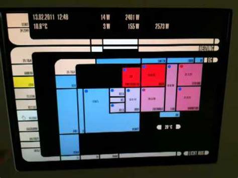 lcars knx eib panel wie in startrek f 252 r gira homeserver