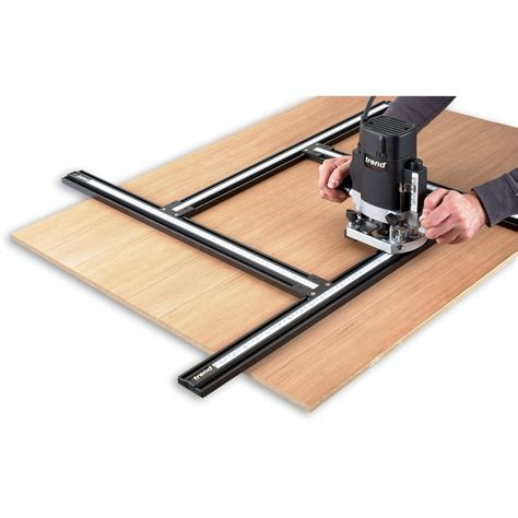routing guide template trend varijig adjustable frame system router jigs