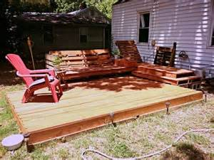 Pallet Patio Deck by Pallet Decks And Patios Deck And Relaxation Area Created