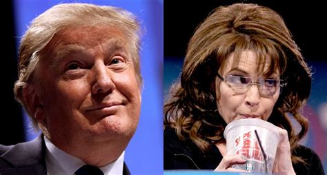 sarah palin donald trump donald trump is to the bible what sarah palin is to