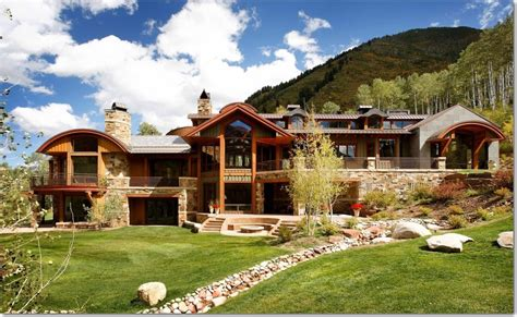 Colorado Cabin Builders by The Most Expensive Luxury Log Homes
