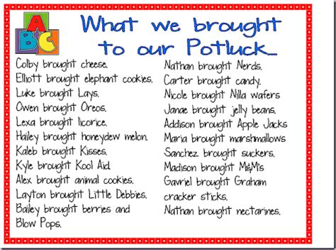 potluck food list template search results for potluck list calendar 2015